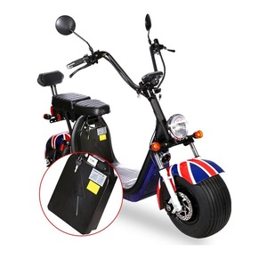 18 Inch Fat Tire  Citycoco Electric Scooter Battery Removable