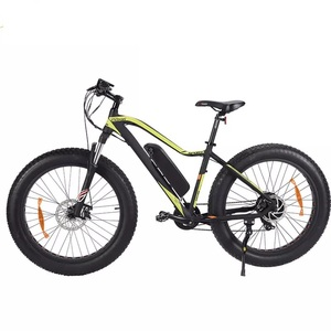 new design 26 inch fat tire snow beach electric bike